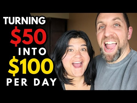 How to Turn $50 into $100 Per Day in Passive Income