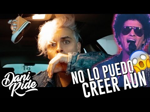 BRUNO MARS CANTÓ MI VERSIÓN EN ESPAÑOL!  | Dani Ride