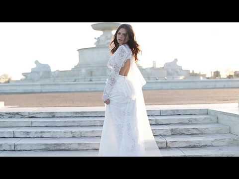 Bridal Inspiration in Lace Elizabeth fillmore Wedding Gown