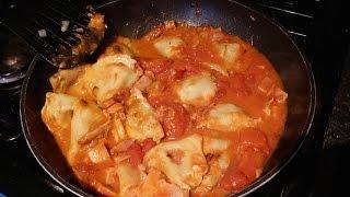 Pierogi Ruskie U Jędrusia , Dumplings With Cottage Cheese Potato Ham Onion & Tomato