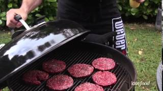 The ultimate chuck steak cheese burger recipe