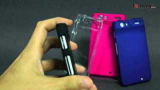 Amzer® Snap On Crystal Hard Case for Motorola Droid Razr Review in HD
