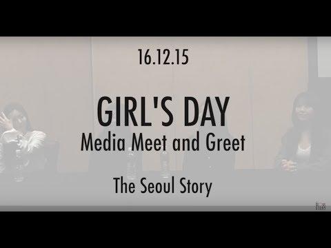 161215 Girl's Day Media Meet & Greet in Singapore