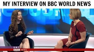 I Was Interviewed On BBC World News! | Amber Doig-Thorne