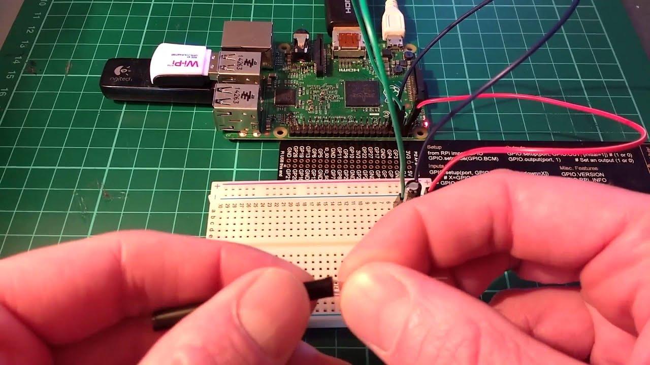 A raspberry pi laser tripwire youtube