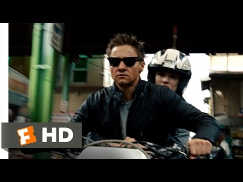 The Bourne Legacy 78 Movie   Motorcycle Chase 2012 HD