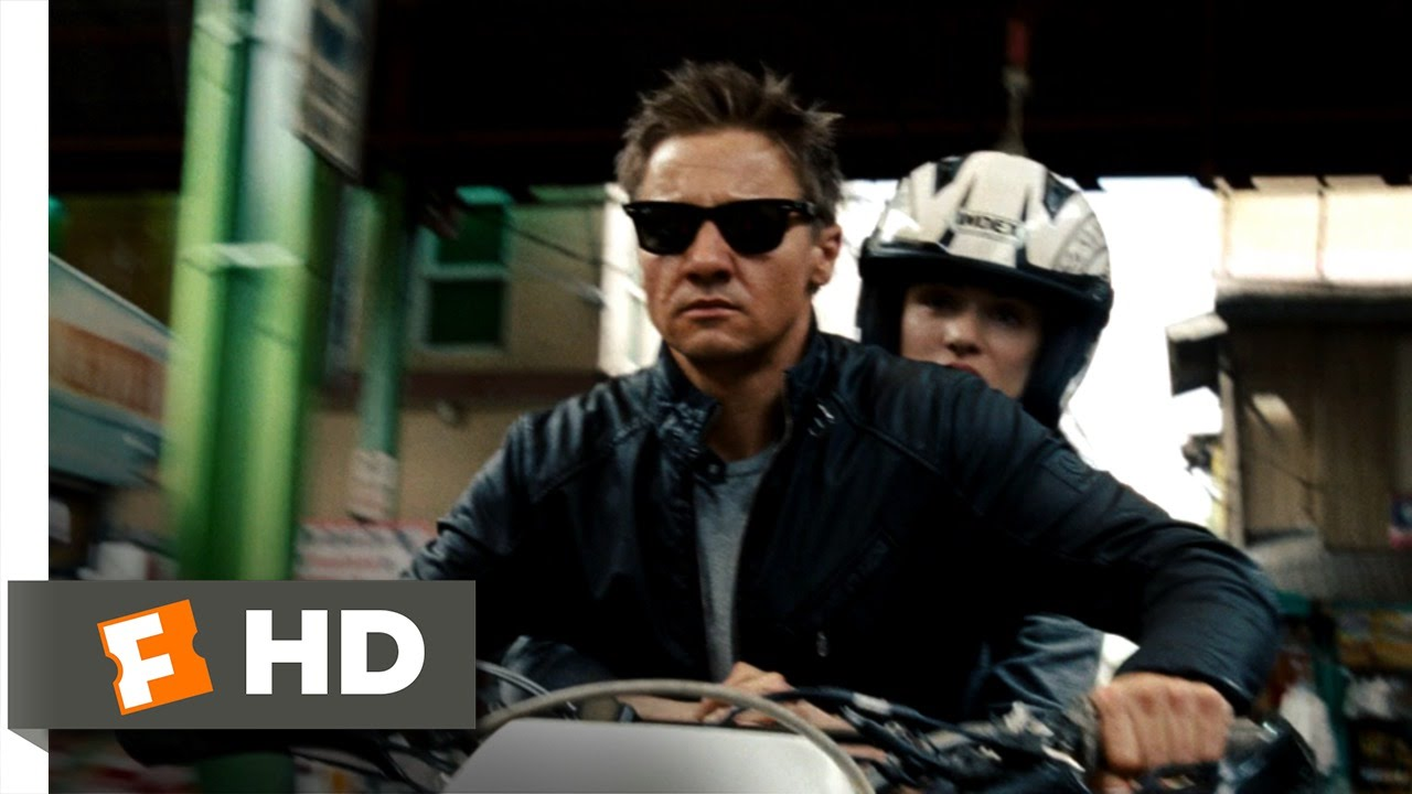 The Bourne Legacy 7 8 Movie Clip Motorcycle Chase 2012 Hd Youtube