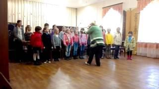 Урок хора песня Муха цокотуха