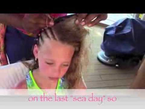 Hair Braiding On Disney S Fantasy Youtube
