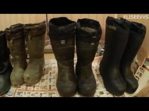 Обзор зимней обуви для рыбалки и активного отдыха