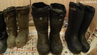 видео обувь для зимней рыбалки