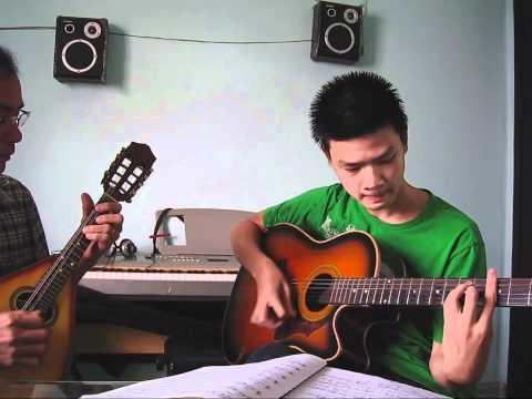 Một buổi học tại lớp nhạc Anh Ngọc