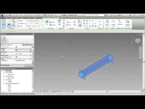 Create a Tension Cable in Revit's Adaptive Template