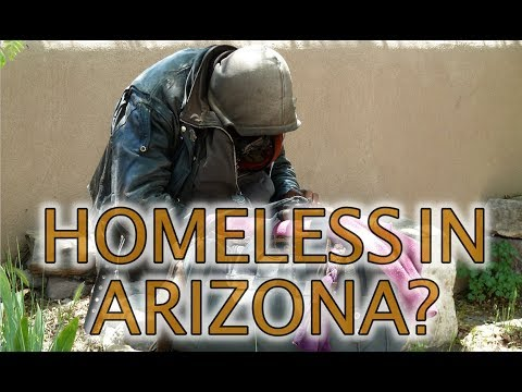 Homeless in Arizona