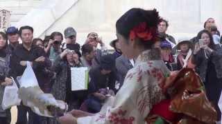 西川あぐり:日本舞踊.