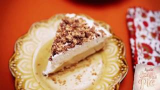 Butterscotch Toffee Pudding Pie From Scratch