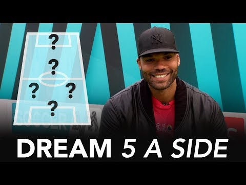 Which player tackled HARD at Man City?   Joleon Lescott's Dream 5-A-Side