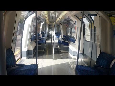 **NEW** Walkthrough and Short Ride - LU Refurbished 1996 Stock - Jubilee Line
