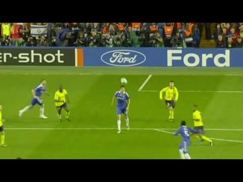 Michael Essien - Goal VS Barcelona - 2009 English Commentary
