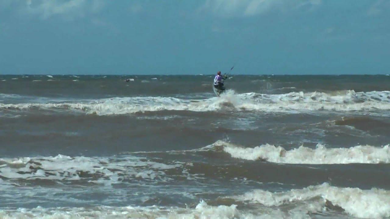Kitesurfen in Katwijk in HD deel 2