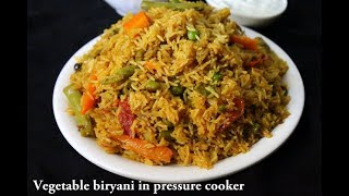 Best Recipe Videos of Veg Biryani|South Indian Style Veg Biryani in Pressure Cooker