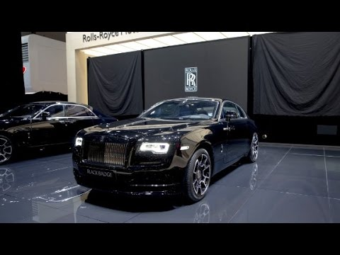 Rolls Royce Unveils Black Badge Models Youtube