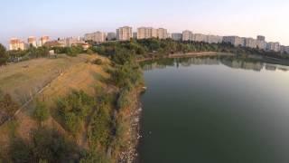 Lacul Fundeni Phantom v2 test GoPro 4 HD part 1