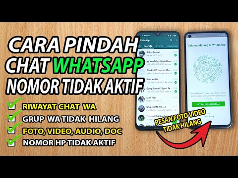 Cara Login whatsapp Dengan Nomor Yang Tidak Aktif Atau Hilang.
