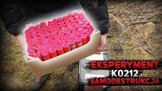 EKSPERYMENT - SAMO-DESTRUKCJA MOCNYCH  PETARD ACHTUNG K0212