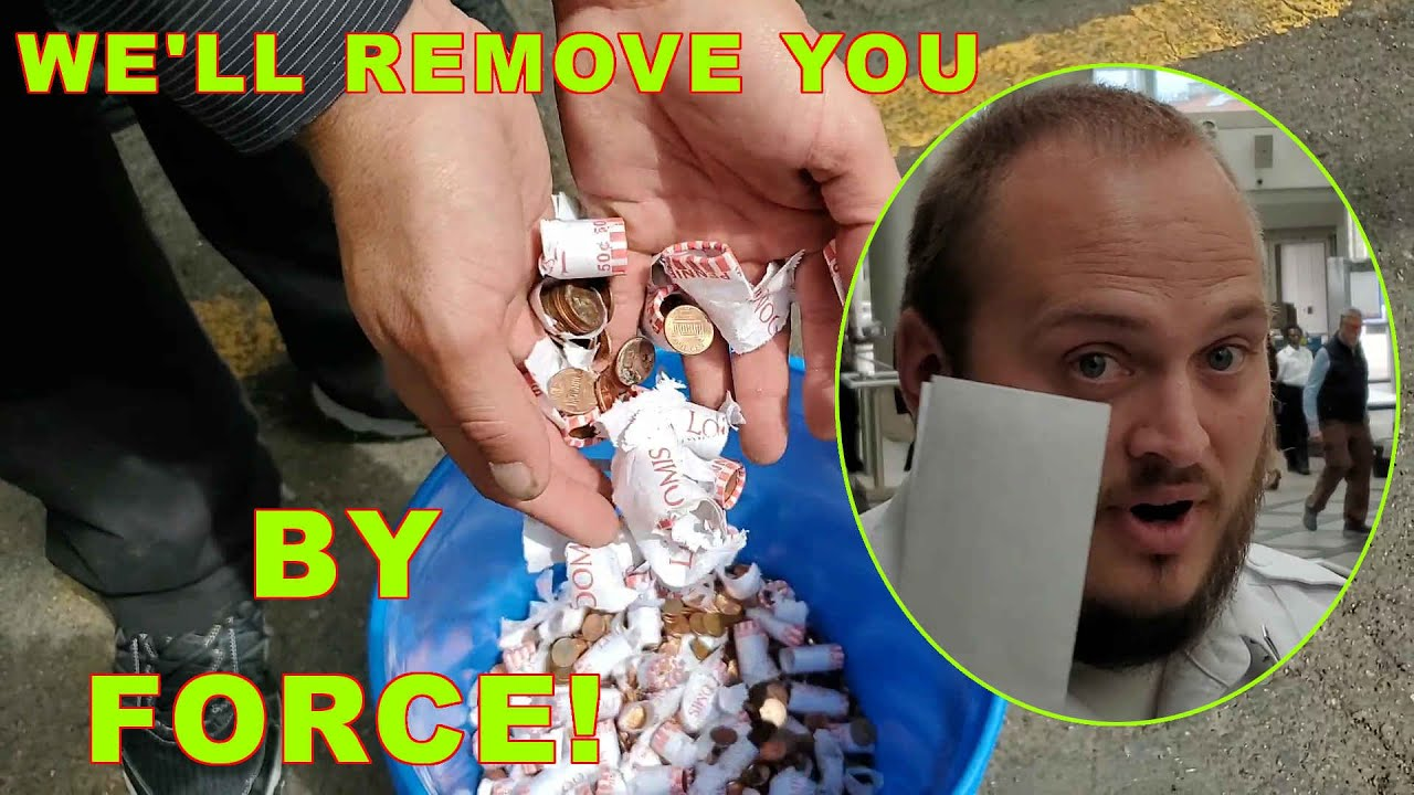WE WILL REMOVE YOU BY FORCE! - PAY FINE WITH PENNIES - PART 2