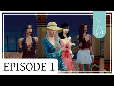Sims 4 sirène - Ep 1 - SORCELLERIE EN ABYSSE