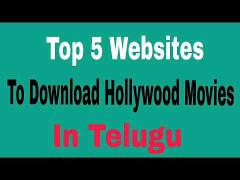 Top 5 Websites to download hollywood telugu dubbed movies in android