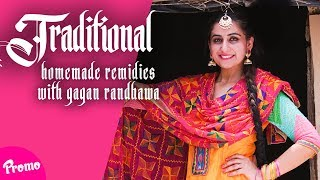 Traditional Homemade Remidies | First Look | Gagan Randhawa | Latest Beauty  Videos 2018