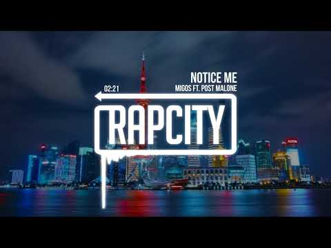 Migos - Notice Me (ft. Post Malone) [Lyrics]