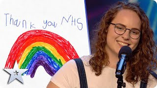 Voice of an angel! INSPIRING nurse Beth Porch performs her song 'You Taught Me What Love Is'