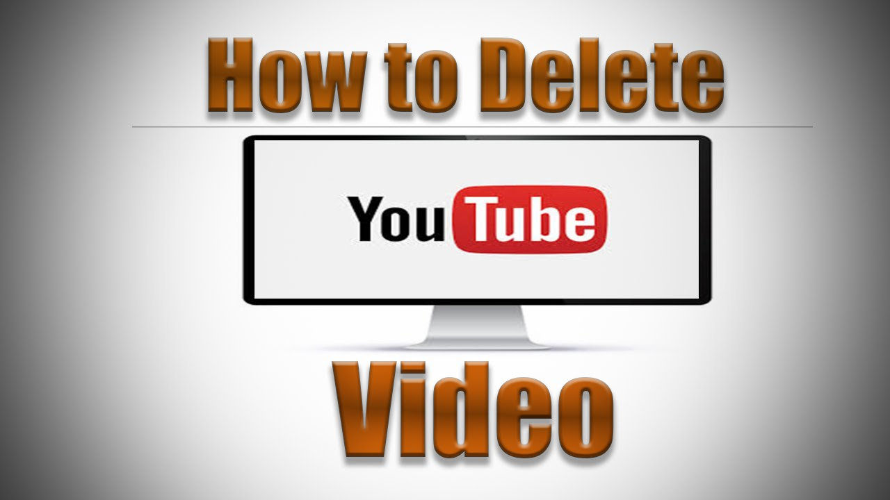 How to delete a youtube video 2016 youtube ccuart Image collections