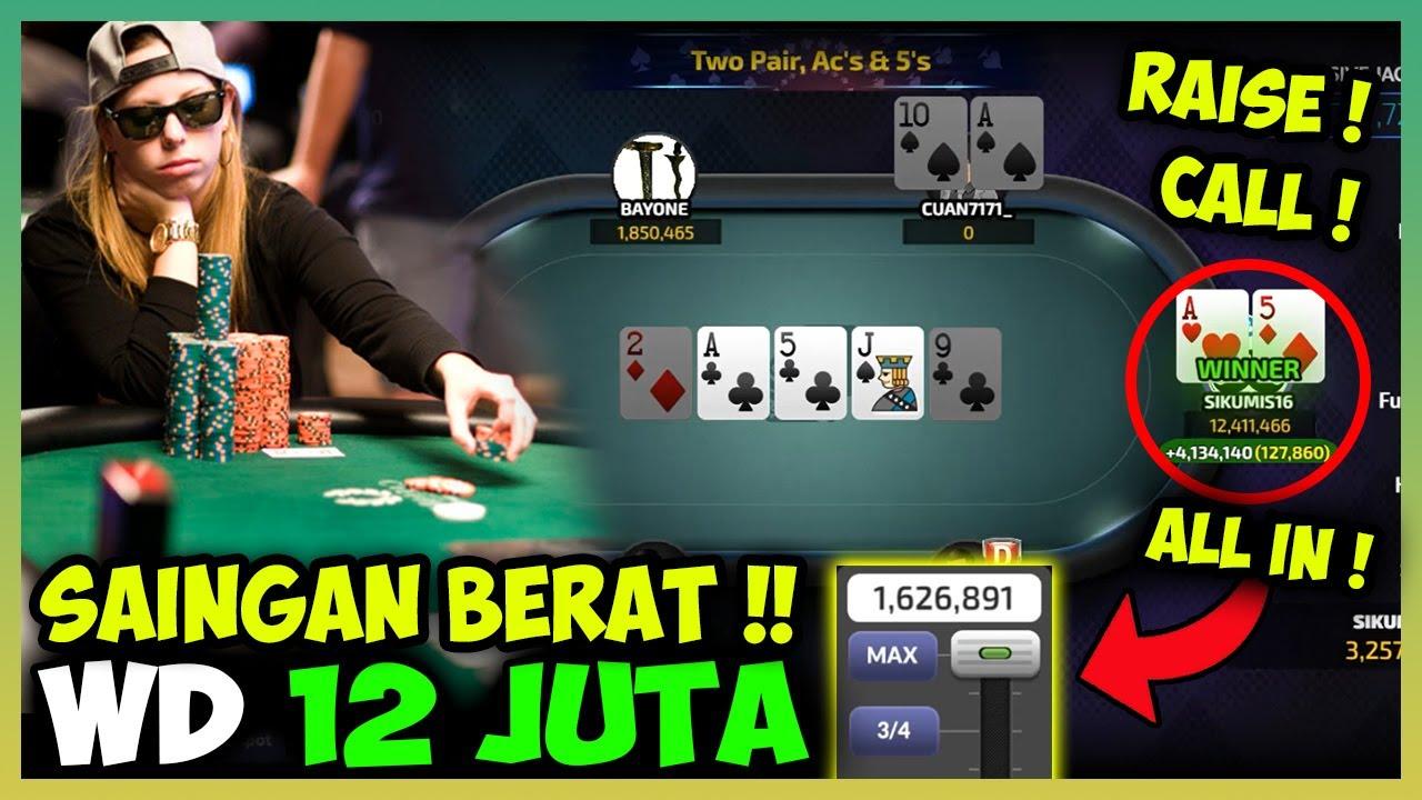 Main Poker Online Bersaing Untuk Menang 12 Juta Dimeja Gold !