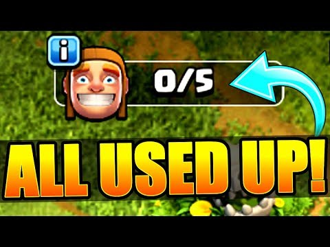 NO MORE BUILDERS!! - Clash Of Clans - UPGRADE GALORE!!