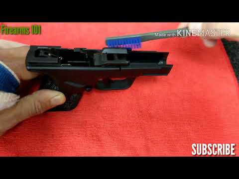Springfield XD 9mm Mod.2 Subcompact Frame Clean & Lube
