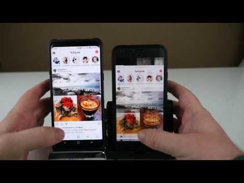 Samsung Galaxy S8 vs Google Pixel XL | Home Button Lag Test