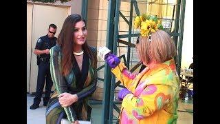 """Trace Lysette, Nico Tortorella, La Demi & AB Soto with Damiana at the """"Drag Race"""" Season 9 finale"""