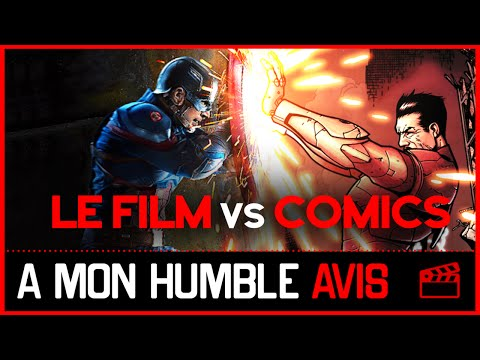 CIVIL WAR - Comics vs Film (SPOILER) - AMHA