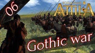【RTS】 #6 Total War: Attila ゴート戦争 キャンペーン 【実況】