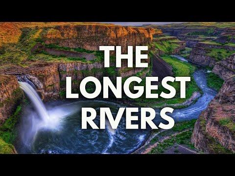 The Longest Rivers in 2017 HD