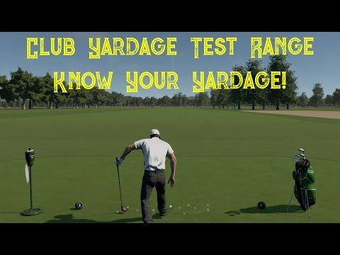 The Golf Club - Club Yardage Test Range