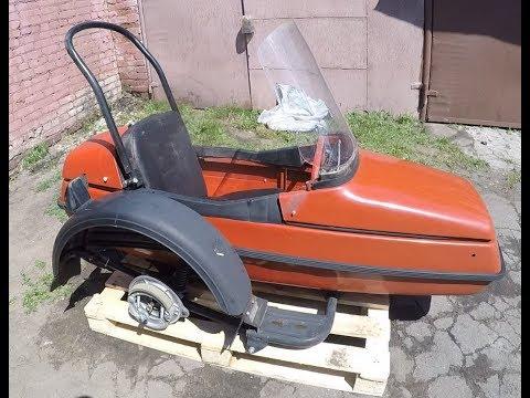 Капсула времени: коляска мотоцикла ВМЗ 9.203 «Спутник»  с хранения