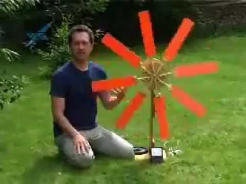 Homemade Wind Generator   Learn How Wind Power Works
