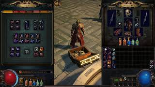 Path of Exile: Fragment Tab