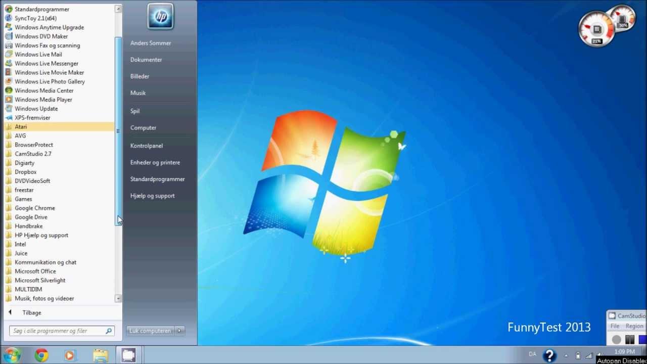 tag et billede af sk u00e6rmen  screenshots windows 7