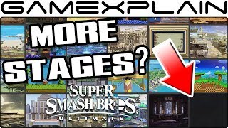 Will Smash Bros. Ultimate Have More Than 103 Stages? Possible Hint of At Least One More!